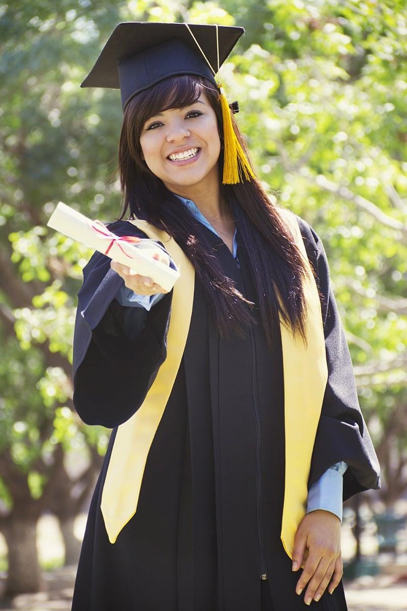 English as a Second Language program graduate